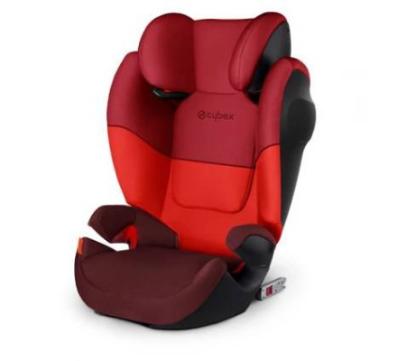autosedačka Cybex SOLUTION M-FIX SL 2019 - rumba red
