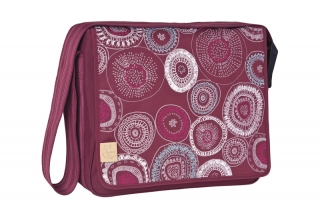 CASUAL MESSENGER BAG 2017 -  fossil rumba red
