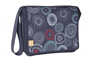 CASUAL MESSENGER BAG 2017 - fossil navy